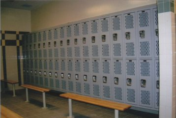 AMP Recessed Wall Lockers Charlotte Fire Department