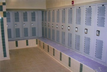 Bench Mounted Lockers