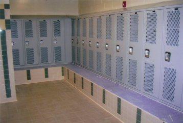 Bench Mounted Lockers