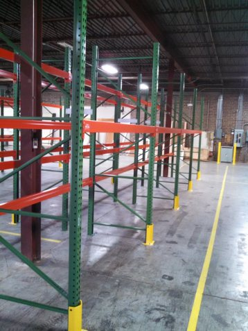 Pallet Rack Installed in High Point, NC