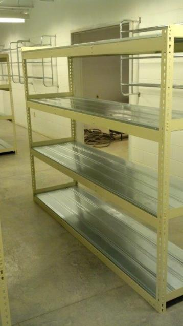 """Rivet Well"" Uniform Storage Shelving - High Point, NC"